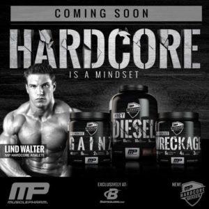 MusclePharm Hardcore Series