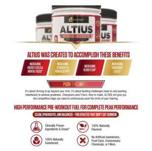 Altius Pre Workout