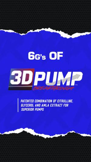 3DPUMP Breakthrough Performax Labs