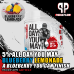 5 Percent Nutrition All Day You May Blueberry Lemoande