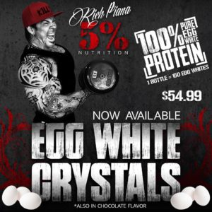 5% Real Food Egg White Crystal Available