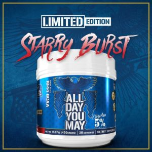 5 Percent Nutrition All Day You May Starry Burst