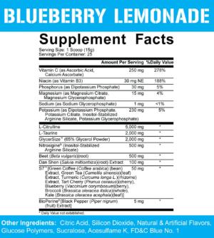 5% Nutrition Full as F*ck Ingredients
