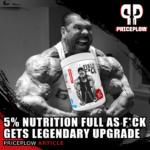 5 Percent Nutrition Full as F*CK