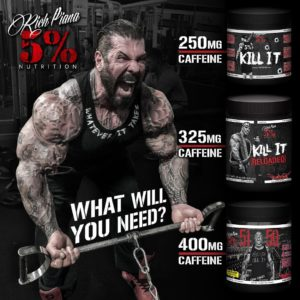 5% Nutrition Pre Workouts