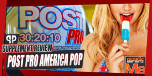 Muscle Elements Post Pro America Pop Review
