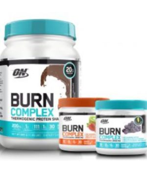 The new Burn Complex line has a primary goal of fat loss in mind for customers.