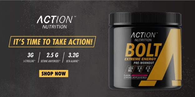 Action Nutrition Bolt Extreme Energy