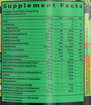 Advanced.GG Focus Ingredients