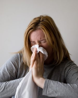 Allergies sneezing