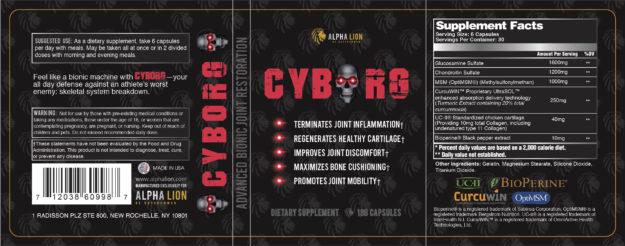 Alpha Lion Cyborg Label
