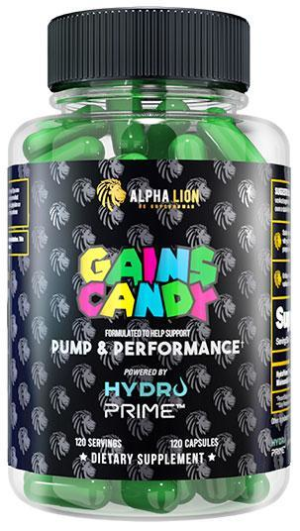 Alpha Lion Gains Candy HydroPrime
