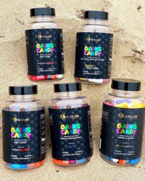 Alpha Lion Gains Candy Series