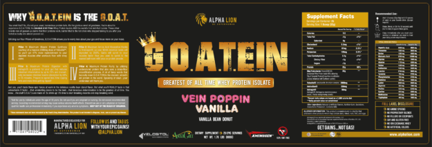 Alpha Lion G.O.A.TEIN Label