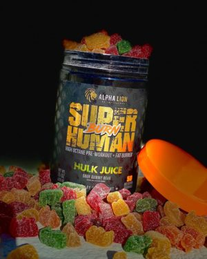 Alpha Lion SH Burn Gummy Bear Hulk Juice