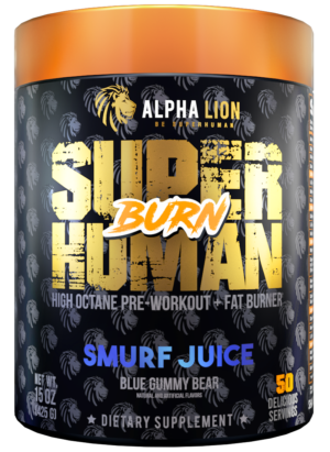 Alpha Lion SuperHuman Burn Smurf Juice