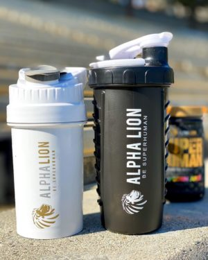 Alpha Lion Shaker Bottle