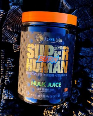 Alpha Lion SuperHuman Burn Hulk Juice Fire