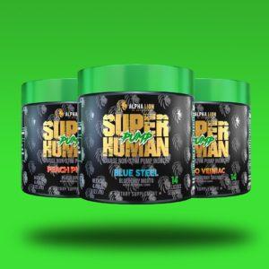 Alpha Lion SuperHuman Pump Samples