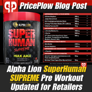 Alpha Lion SuperHuman Supreme 2020 PricePlow