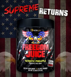Alpha Lion SuperHuman Supreme Freedom Juice