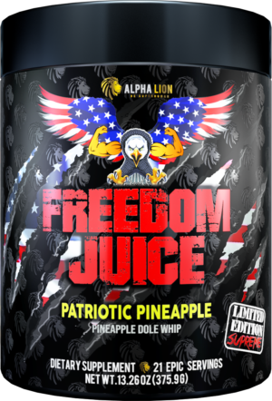 Alpha Lion SuperHuman Supreme Patriotic Pineapple