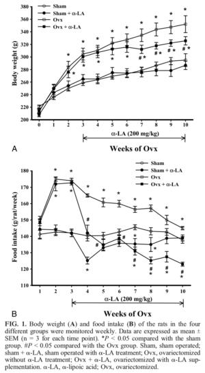 Alpha Lipoic Acid Obesity