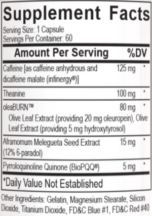 Alphamine Capsules Ingredients