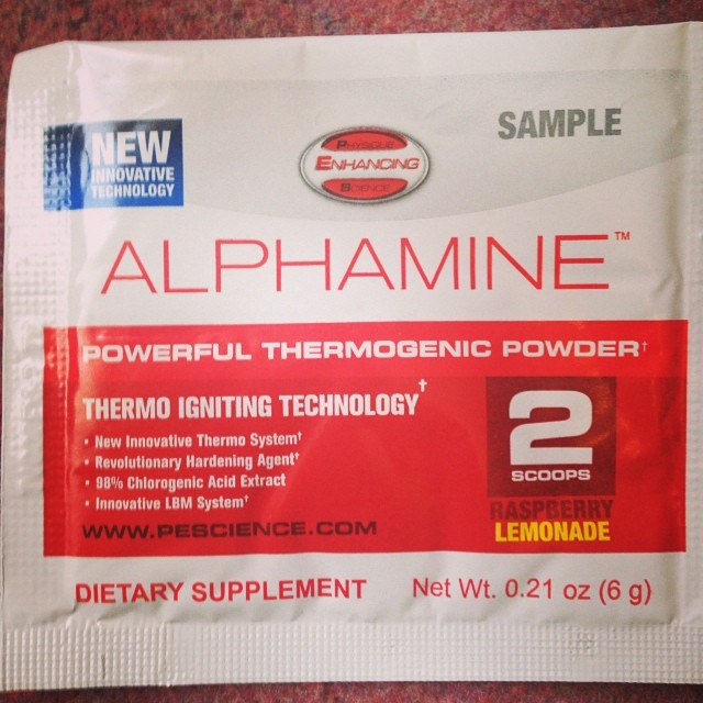 PEScience Alphamine Free Sample
