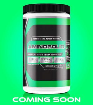 We also got to sample AlphaOne Labs soon to be released EAA/BCAA product IntraBoliq. Suffice it to say, the taste is AMAZING!