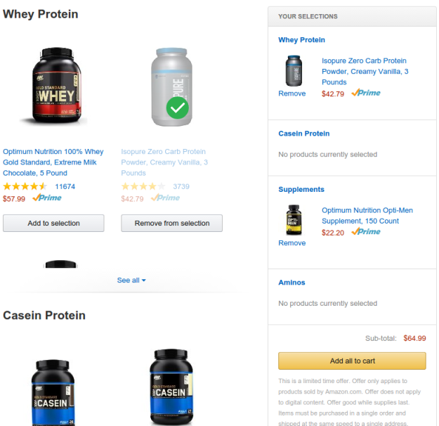 Amazon Protein Coupon