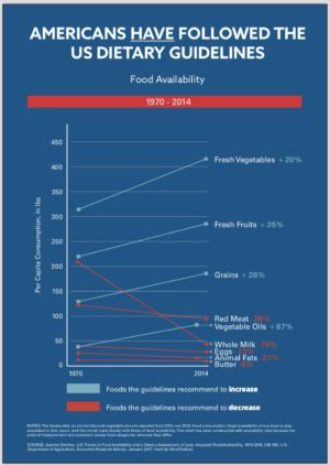 America Food Guidelines Consumption