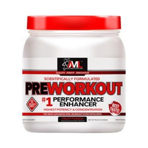 Advanced Molecular Labs Pre Workout is a true beast of a pre workout that uses clinical doses of staple ergogenics powered by 400mg of pure caffeine.