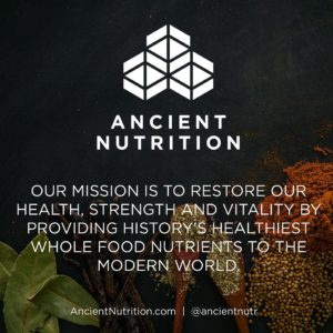 Ancient Nutrition Statement