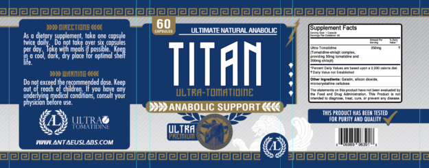 Antaeus Labs Titan Label