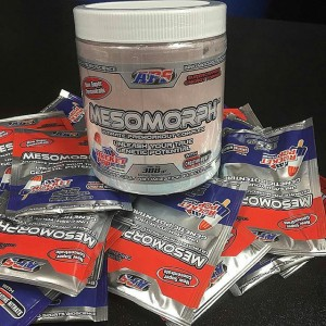 This image was posted to APS Instagram account. Could this be new labeling for the newly high-powered Mesomorph?