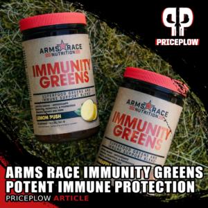 Arms Race Immunity Greens