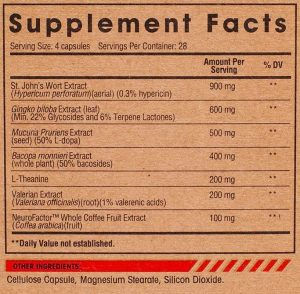 Arms Race Nutrition Clarity Ingredients