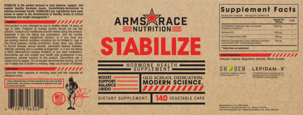 ARN Stabilize Label