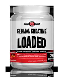 Athletic Xtreme German Creatine Loaded