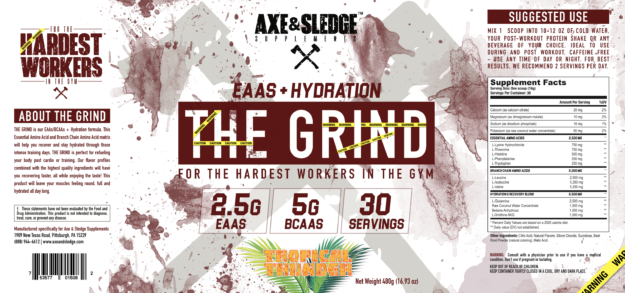 Axe & Sledge The Grind Label
