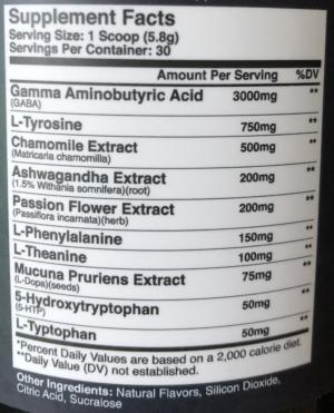 Axe & Sledge Dozer Ingredients