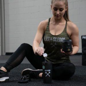 Axe & Sledge Female Athlete Gym