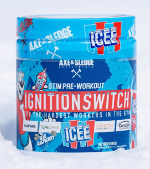 Axe & Sledge Ignition Switch ICEE Blue Raspberry