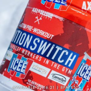 Axe & Sledge Ignition Switch ICEE Cherry