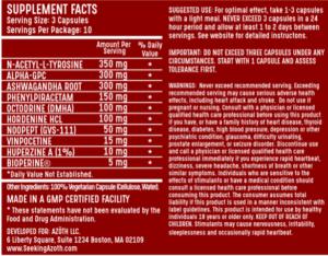AZOTH Ingredients