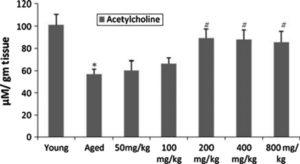 Bacopa Rat Acetylcholine