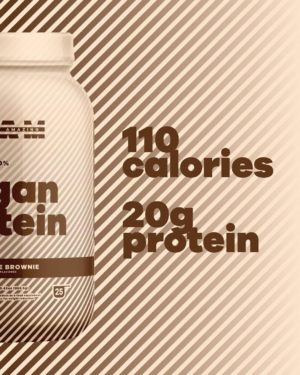 BEAM Vegan Protein Chocolate Brownie Graphic