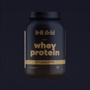 BEAM Whey Protein Salty Peanut Butter