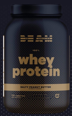 BEAM Whey Salty Peanut Butter